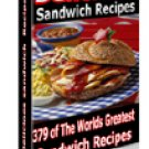 379 Delicious Sandwich Recipes