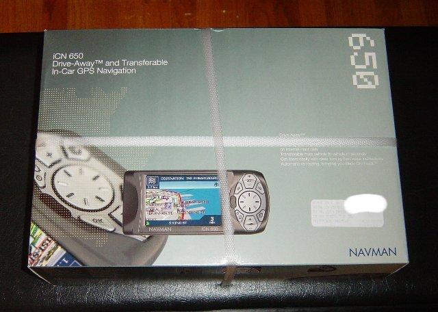 New Navman iCN 650 Transferable GPS Car Navigation+Maps