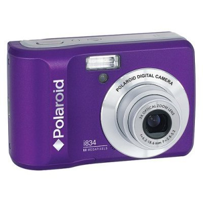 New Polaroid i834 8.0MP Digital Camera - Purple
