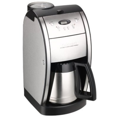 Cuisinart DGB-600BC DGB-600 Grind and Brew Coffeemaker Brushed Chrome
