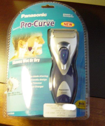 New Panasonic ES4025SC Pro-Curve Electric Rechargeable Mens Wet Dry Shaver