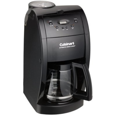 Cuisinart DGB500BK Grind and Brew Black DGB-500 SEALED