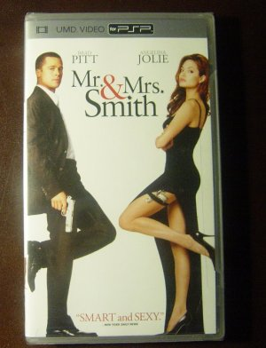 New Mr and Mrs Smith 2005 UMD Video Movie for PSP SEALED