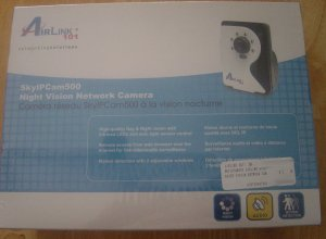 New Airlink AICN500 SkyIPCam500 Night Vision Network Surveillance IP Camera