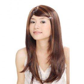 Long Straight Brown Hair Wig