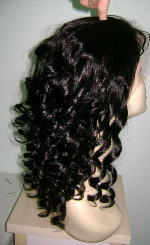 """Full Lace Wig 16"""" 1B $290/Free Shipping"""