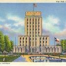 City Hall, Houston, Texas Joseph Finger, Inc., Architects