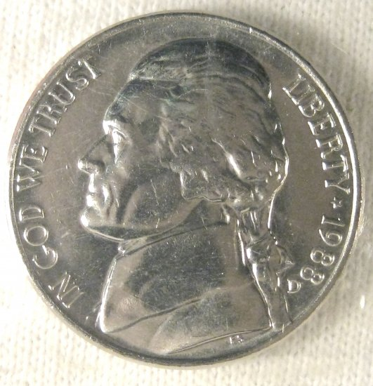 1988 D UNC Jefferson