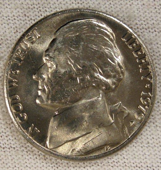 1979 D Jefferson UNC #1424