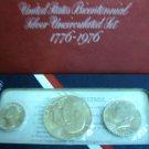 1976 Bicentenial Silver Set #1852