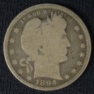 1894 Barber Quarter #4412