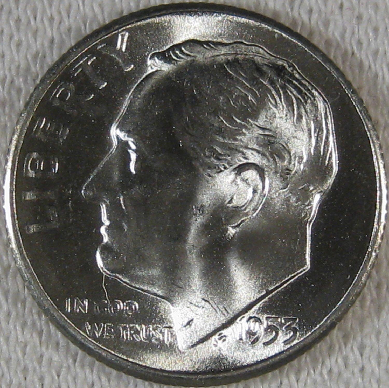 1953-S Roosevelt  #4371