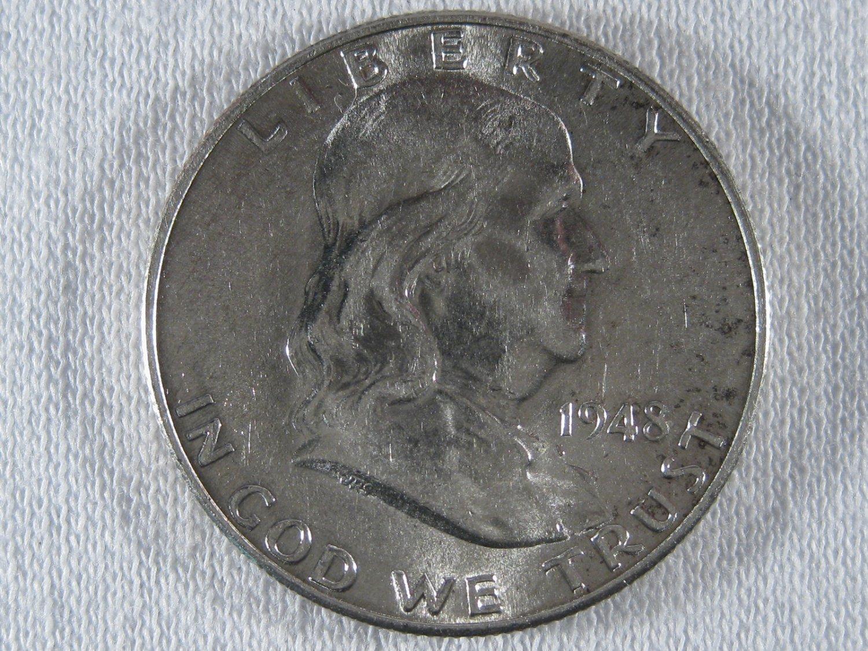 1948-D Franklin #4351