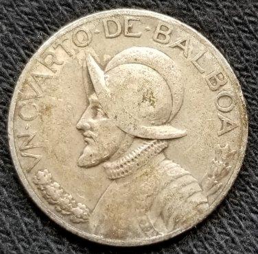1930 Panama 1/4 Balboa