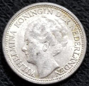 1941 Netherlands 10 cents