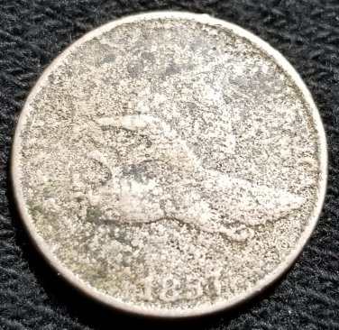 1857 Flying Eagle Cent - Filler