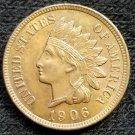 1906 Indian Head Cent - AU55
