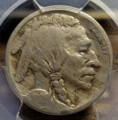 1921-S Buffalo Nickel - PCGS VG08