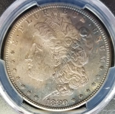 1880-S Morgan Dollar - PCGS MS63