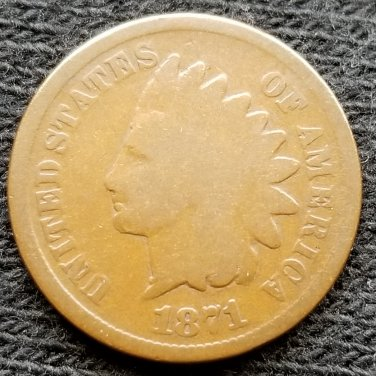 1871 Indian Head Cent - G4