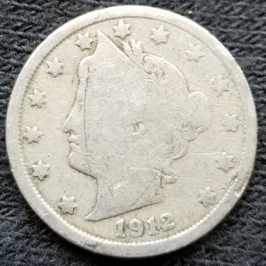 1912 Liberty Head Nickel - Filler
