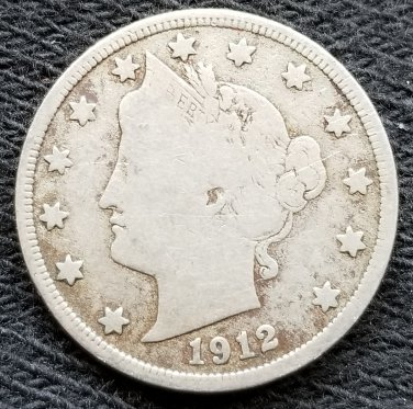 1912-D Liberty Head Nickel - VG8