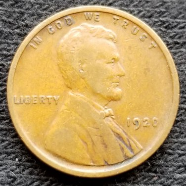 1920 Lincoln Cent - VG8