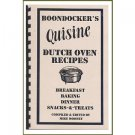 BOONDOCKER'S Quisine DUTCH OVEN RECIPES - COOKBOOK
