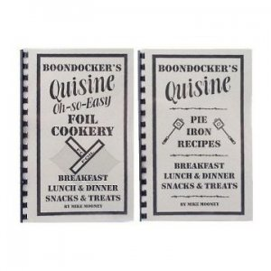 BOONDOCKER'S Pie Iron Recipes + Foil Cookery Cookbooks