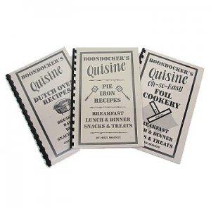 BOONDOCKER'S Pie Iron Recipes + Dutch Oven Recipes + Foil Cookery Cookbooks