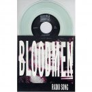 "BLOODMEN Audio Addict ‎AA69-3, 7"" CLEAR VINYL, 45 RPM, EP"