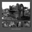 Photo Collage of Galveston Island, Texas' Oldest Cemetary