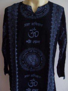 Ganesh OM  Men T Shirt  Hindu India Black L XL XXL 17077 5888
