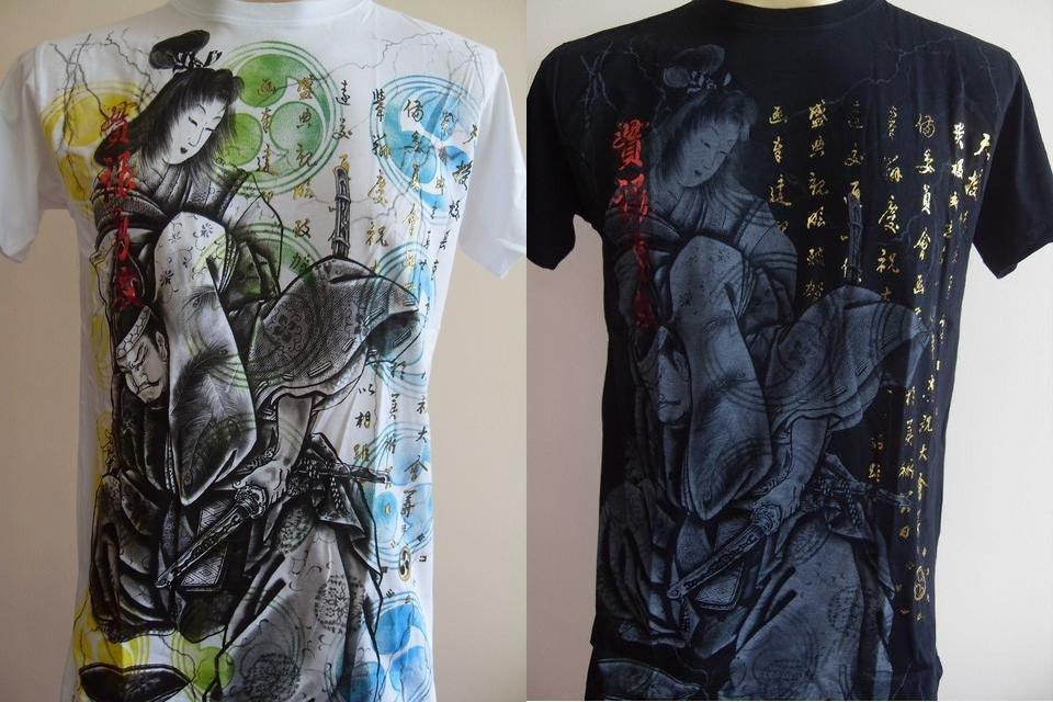 Emperor Eternity Japanese Geisha Men Tattoo T-shirt M L XL 17059 5095