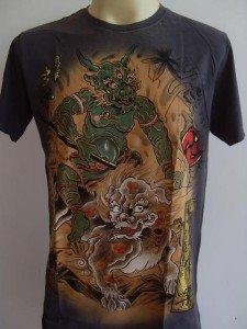 Emperor Eternity Third eyed Devil Tattoo Gray M L