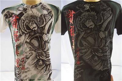 Emperor Eternity Japanese Soul Men Tattoo T shirt M L