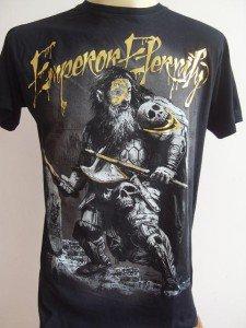 Emperor Eternity Skull Predator Tattoo T-shirt black L