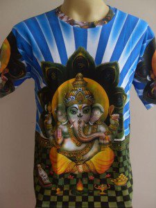 Ganesha Ganesh Men T Shirt OM Hindu India Hinduism M L 18082 4340