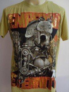 Emperor Eternity Cyborg Lady Tattoo Yellow L