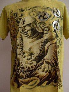 Emperor Eternity Katyayana Buddhist Tattoo T shirt L #Y