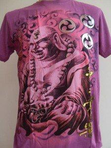 Emperor Eternity Katyayana Buddhist Tattoo T shirt L #P
