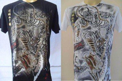 Emperor Eternity Japanese Demon Tattoo T-shirt  M L