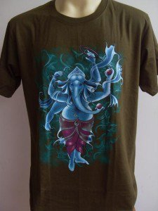 Ganesha Ganesh Lord OM Hindu T shirt India  M L XL #STG