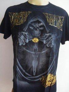 Emperor Eternity Fire Soul Tattoo T shirt Black  L