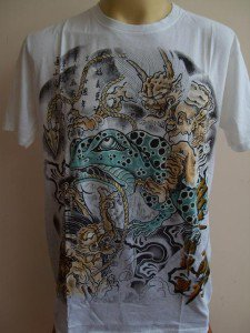 Emperor Eternity Devil Toad Tattoo T-shirt White S