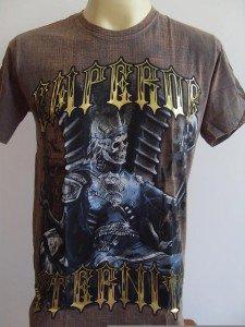 Emperor Eternity Skull Prince Tattoo Men T-shirt M