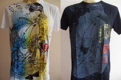 Emperor Eternity Hell Goddess Men Tattoo T-shirt M L