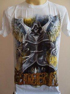 Emperor Eternity Flying Robot Tattoo T-shirt  White M