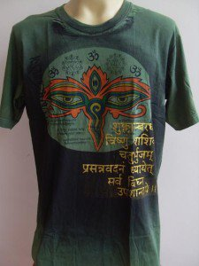 Third Eye Ganesh Men T Shirt OM Hindu  India XL #05