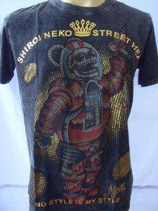 Minute Mirth Skull Astronaut Tattoo Rock Men T-shirt L